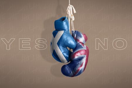 englishman: symbol Scottish independence referendum, 2014