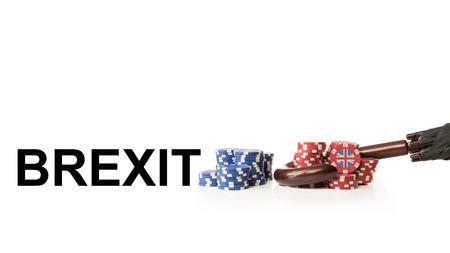 Großbritannien verlässt die Europäische Union Standard-Bild - 42085722