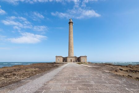 basse normandy: The old Lighthouse of Barfleur, Normandy, France, 2015