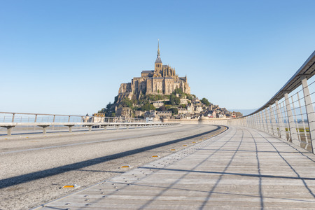 le: Le Mont Saint Michel, France, Normandy 2015