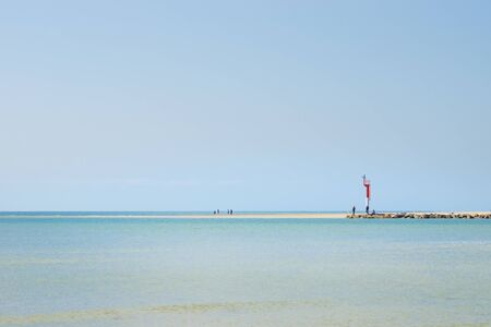 normandy: The Beach of Portbail, France, Normandy,
