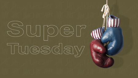 tuesday: The Super Tuesday in the United States of America