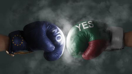 Italexit, Symbol of a Referendum Italy vs EU