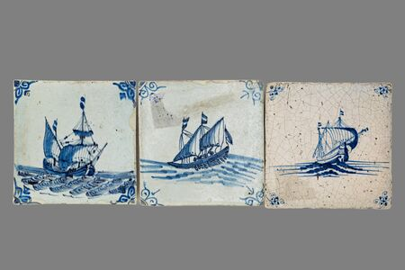delftware: old Dutch tile from the 16th to the 18th century