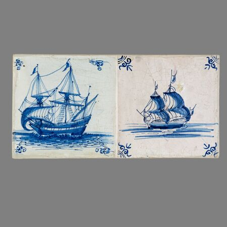 old Dutch tile from the 16th to the 18th century