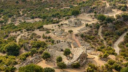 The ancient city of Kaunos was a port city that was important trade center of its time.The founder of the city, Kaunos, is the son of Miletus. There are rock tombs, baths, agora, an ancient theater with a capacity of 5 thousand people and a sacred temple in Kaunos.