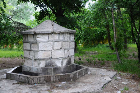 An old fountain