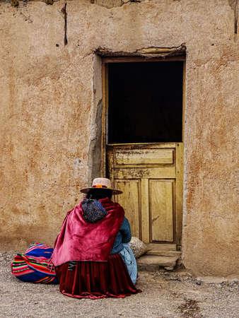 Salesmen offering merchandise door to door