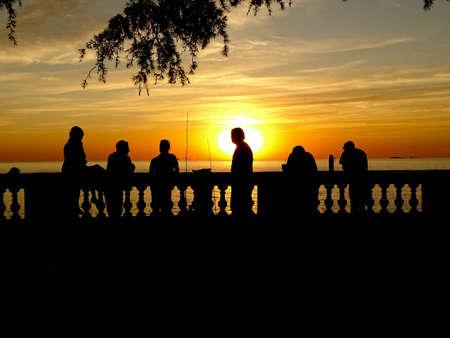 Sunset Colonia del Sacramento Uruguay