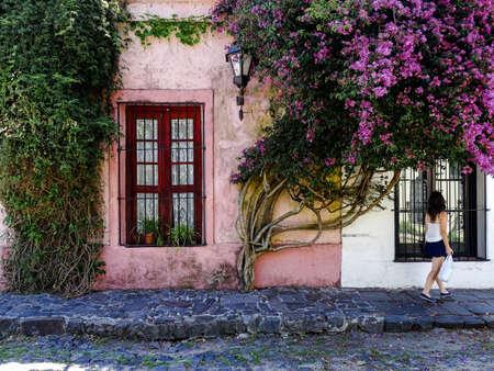 Calles Floridas Colonia del sacramento in Uruguay
