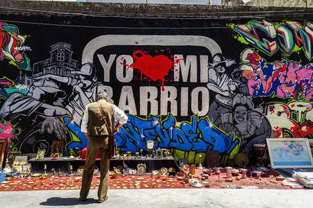 Feria al aire libre de Montevideo Uruguay