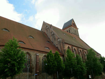 honored: St  Mary s Church Anklam first mention of 1296