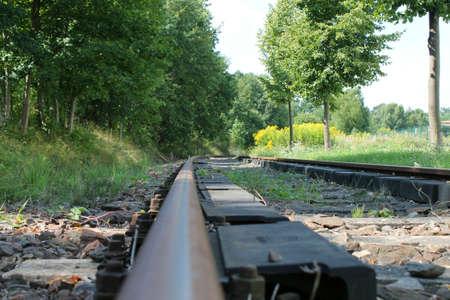 scheduled: Rail Stock Photo