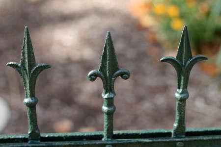 fence tines Stock Photo - 22505971