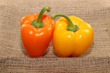 gelb: Paprika gelb orange