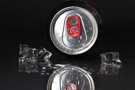 refreshment: tin - refreshment - cold