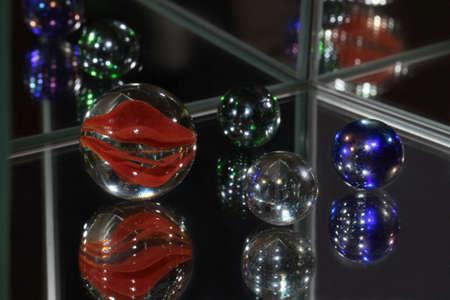 spiegelung: Glaskugel
