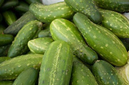 tast: Cucumbers close