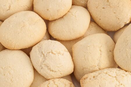 Coconut cookies (gluten free) close-up