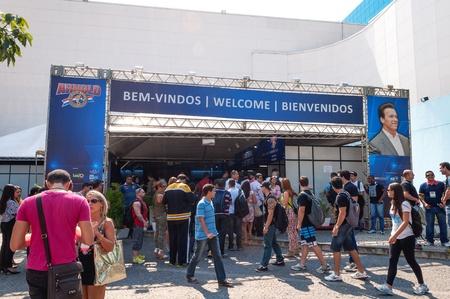 Shot made on 04262013 on Arnold Classic Brasil 2013 realized on Rio de Janeiro  Brazil.