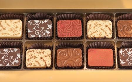 Close of Chocolate Truffles  Shallow DOF