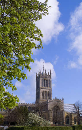 mary's: Largest parish church in Leicestershire. The cathedral-like St Marys, Melton Mowbray