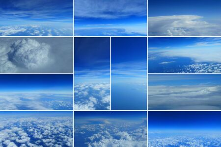 terrific: Collage Heaven and clouds