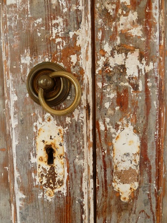 Lock of an old door  Stock Photo - 11563462