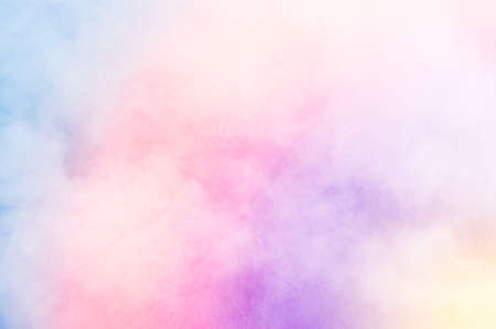 Rainbow clouds background texture, made with color filter