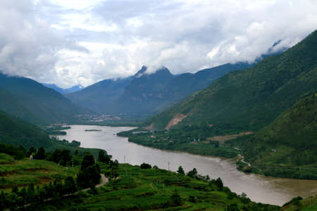 Yangtze River First Bay, Yangtze River First Bay is located in Lijiang City, Yunnan Province