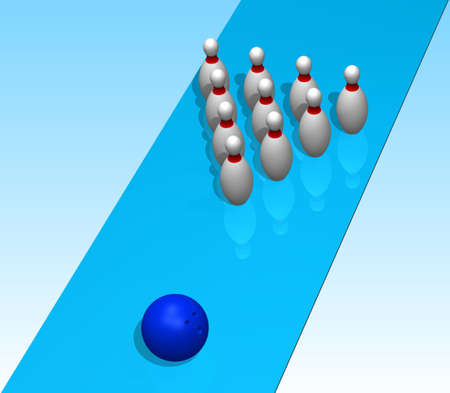 3D. Bowling