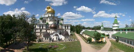 Russia. New Jerusalem monastery. Panorama
