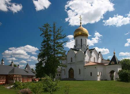 Russia. Zvenigorod. Savvino-Storozhevsky monastery  Stock Photo