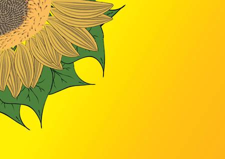 Decorative floral background, vector illustration Stock Vector - 3397017