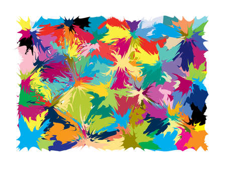 Abstract background. Multicolored vector illustration. Stock Photo