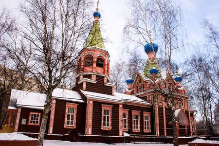 Lyubertsy (near Moscow). Troitsy Zhivonachalnoj church.