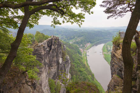 Saxon Switzerland National Park. Is a National Park in the German Free State of Saxony, near the Saxon capital Dresden.