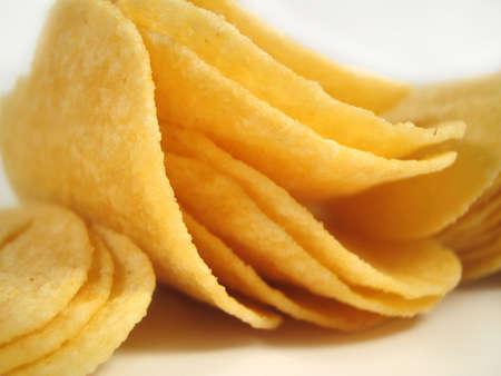 munch: close up of potato chips