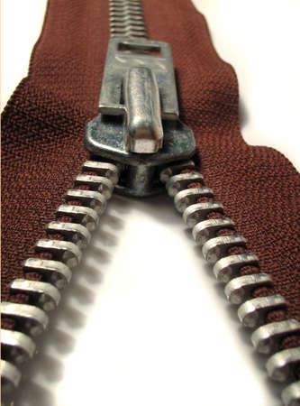 brown zipper