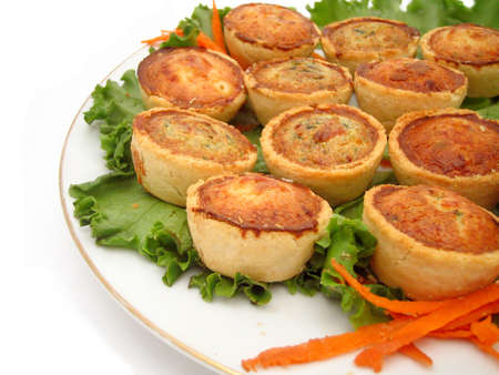 browned: quiche platter