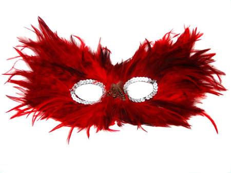 isolated masquerade mask