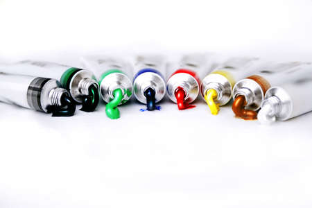 rainbow paints Stock Photo - 292356