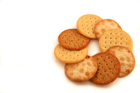 variety of cheese crackers