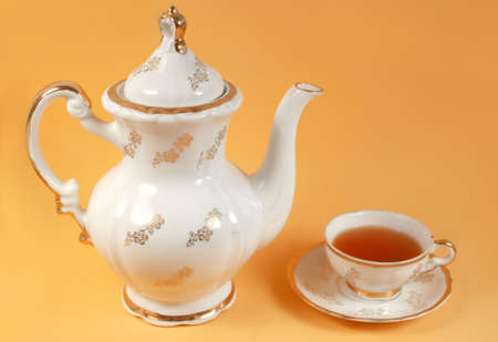 pekoe: afternoon tea time Stock Photo