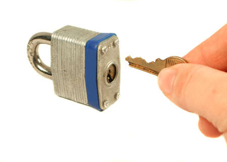 unlocking lock