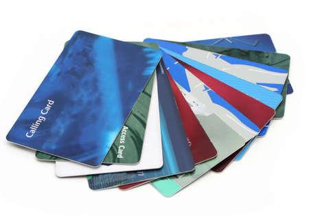 났습니다: cards found in a wallet