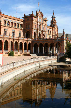 seville: Plaza de Espana in Seville, Spain