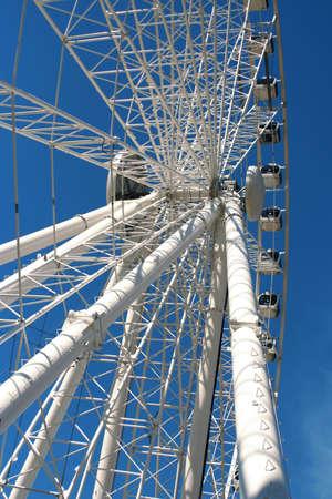 giant ferris wheel in Seville, Spain photo