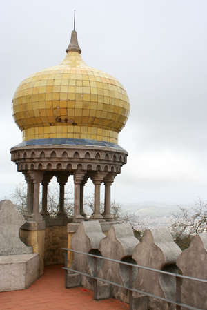 Overlooking Sintra from Pena Palace photo