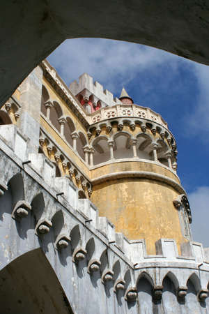 Pena Palace in Sintra Portugal photo